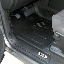 GMC Yukon Denali XL Black Front Floor Liner Mat Mats 2000 - 2006