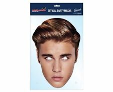 Justin Bieber Maske 2016 Prominent einzeln 2D Karten Party Gesichtsmaske Zweck