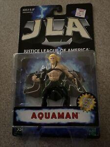1998 DC Hasbro Justice League of America Aquaman Action Figure Unopened