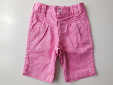 Baby girl Stix n Stones pink shorts size 0 Fits 6-12mths EC