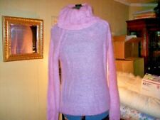 LAURA CLEMENT COLLECTION WOMENS PINK MOHAIR SWEATER SIZE 6/8