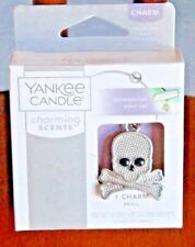 2017 Yankee Candle SKULL and CROSSBONES Skull & Crossbone Car Charm Skull Charm