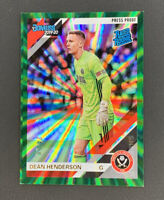 2019-20 Panini Chronicles Dean Henderson Rated Rookie Green SP Press Proof 24/50