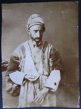 1890 MENDIANT original photo dilencilik Türkiye Turkey mendicant sufism Tasavvuf