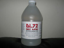 DL72 RUST EATER HALF GALLON BOTTLE 64 OUNCE SAFE AND EFFECTIVE RUST REMOVER