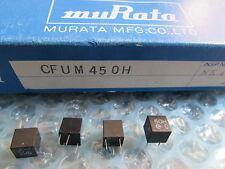 CFUM450H Murata Ceramic Filter (Quantity: 4 Pieces) New Old Stock Original Japan