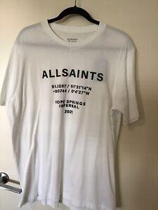 All Saints Brand New T Shirt Size L