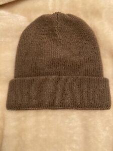 Bnwt Brown Acne Studios Beanie Hat Knit