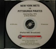 1972 Opening Day at Shea Stadium, Mets-Pirates, Clemente's last Opener DVD!