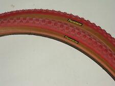 Old school NOS Panaracer 20 X 1 3/8 red bmx tires mini jr bike pair set