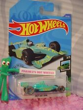 INDY 500 OVAL race car #25 ☮ turquoise; ☮SPEED BLUR ☮ 2020 i Hot Wheels case A/B