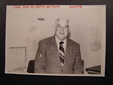 Glossy Press Photo 1983 Waltham Police Chief Edward Sicotte #3