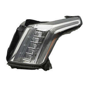OEM NEW Driver Side Headlight Lamp LED 15-20 Cadillac Escalade & ESV 84580182