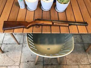 Benjamin model 3100 bb repeater multi-pump air rifle serial #F15174 working