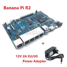 Banana PI R2 Single Board Computer Open Source Wireless Router+Power Supply