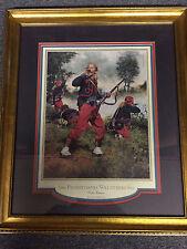 Don Troiani 1987 - 114th Regiment Pennsylvania Volunteer - Collis Zouaves