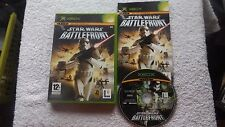 STAR WARS BATTLEFRONT XBOX V.G.C. FAST POST ( action/adventure & shooter game )