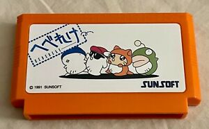 Hebereke Sunsoft Famicom Conversion Japanese Cart 100% Compatible