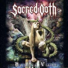 SACRED OATH- Darkness Visible CD us metal killer ala FATES WARNING meets METAL C