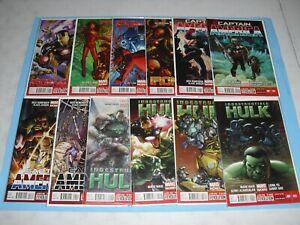 Iron Man, Captain America & Indestructible Hulk (2013 series) all 1-4 VF/NM 3074