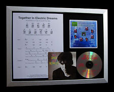 OAKEY & MORODER Electric Dreams TOP QUALITY CD FRAMED DISPLAY+FAST GLOBAL SHIP