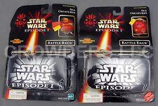 Star Wars Episode 1 Battle Bags Sea Creatures #1 & #2 Hasbro 1998 Complete NIP
