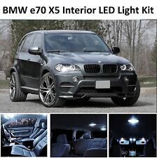 2018 BMW X5 E70 INTERIOR PURE WHITE FULL UPGRADE LED LIGHT BULBS KIT