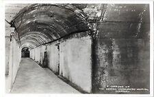 # 866 A Corridor of the German Underground Hospital Guernsey RP VGC