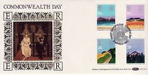 Benham BLS Series FDC Commonwealth Day, Geographical Regions SHS World 1983
