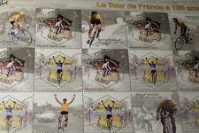 """France timbre Série neuve """"Le tour de France à 100 ans"""" YT 59"""