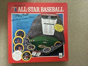 cadaco all star baseball board game 1989 Full Set VG