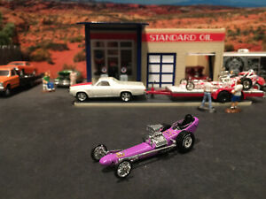 1:64 Hot Wheels Limited Edition Vintage Drag Racing The Purple Gang Dragster