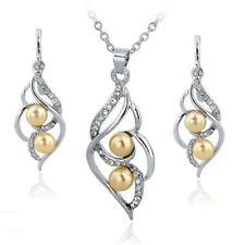Women-Bridal-Crystal- Toucheart-Simulated-Pearl -Wedding-Jewelry-Sets-for-