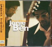 Jorge Ben Puro Suingue JAPAN CD Best Album 20track W/OBI 6 Bonus Track UICY-1051