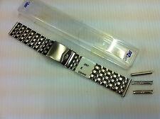 ZRC Superior Calidad Acero Inoxidable Reloj Correa se suministra con extremos 22mm y 24mm