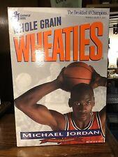 MICHAEL JORDAN Chicago Bulls 1993 Collector's Edition WHEATIES BOX Opened Box VG