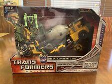 Hasbro Transformers Universe Voyager - Decepticon Heavy Load MOSC Heavyload