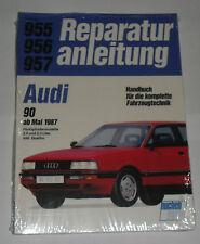 Reparaturanleitung Audi 90 B3 Typ 89 Fünfzylinder incl. Quattro, ab 1987
