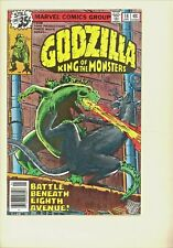 Godzilla King of the Monsters #18 VF+ Herb Trimpe cover and art! Horror, Sci Fi