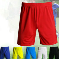 Mens Plain Mesh Quick-dry Loose Shorts 2 Pocket Casual Fitness Basketball Pants