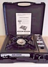 ACE COOK Portable Gas Stove with Carrying Case - Great for Outdoor Camping