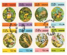 Dhufar 1973 Bird Stamps