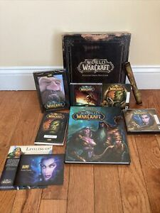 World of Warcraft Collectors Edition Box Set - Vanilla (PC, 2004) CODE USED. B1
