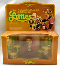 NEW IN BOX The Littles Belinda & 4 Chair Set #1791 MATTEL 1980