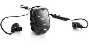 TomTom Runner 2 Cardio + Music Größe L Laufuhr Herzfrequenz schwarz + Kopfhörer