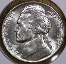 1944-P  5¢ JEFFERSON SILVER WAR NICKEL - CHOICE BU