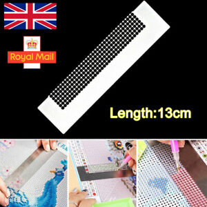DIY Stainless Steel Diamond Painting Ruler Sewing Embroidery Accessories Durable