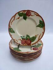 Vintage Franciscan Apple Salad/Dessert Plates Set of 7 USA