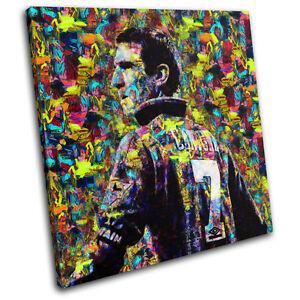 Eric Cantona Pop Iconic Celebrities SINGLE CANVAS WALL ART Picture Print