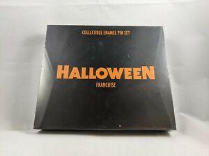 Halloween Franchise Collectible 5 Enamel Pins Set Scream Factory Box Set